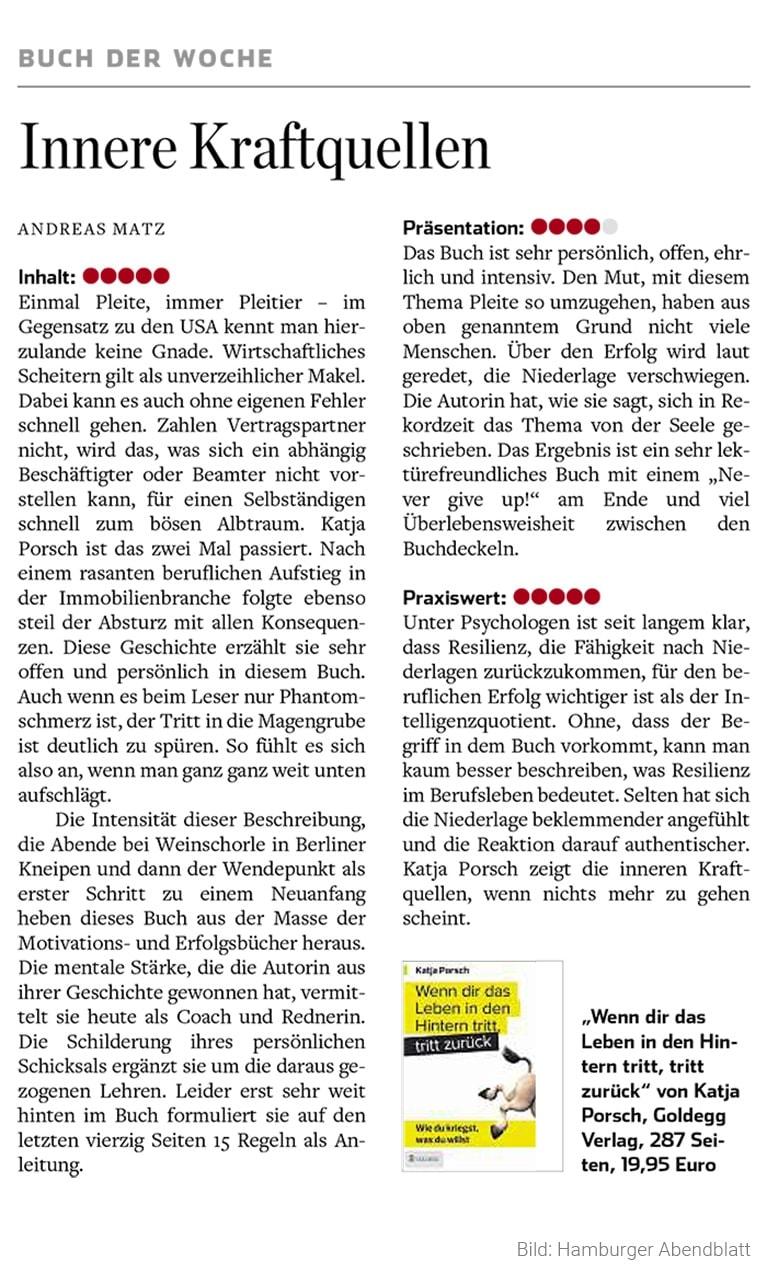 Hamburger Abendblatt Buch der Woche 2016 12 17