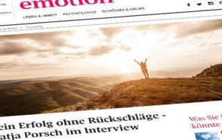 Blog Emotion Interview